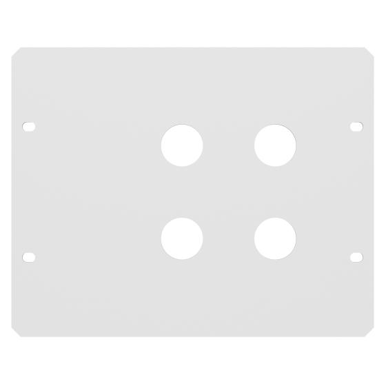 Montageplåt RLS 4 hål