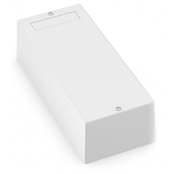 Kopplingsbox 2 moduler vit