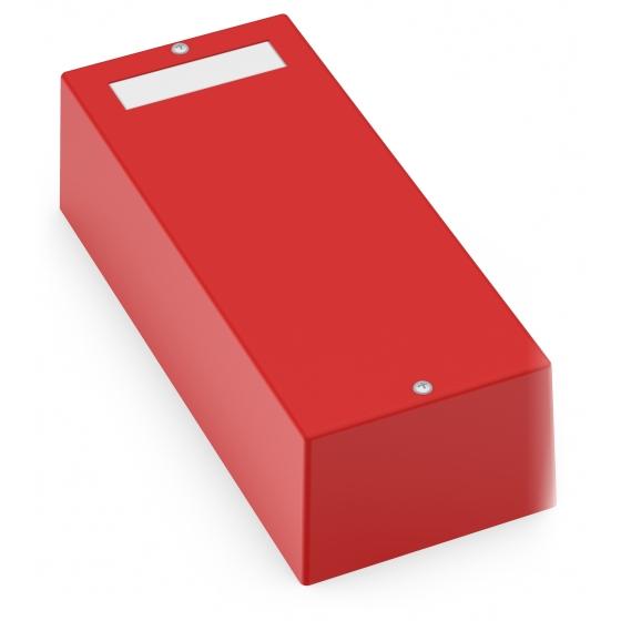 Kopplingsbox 2 moduler röd