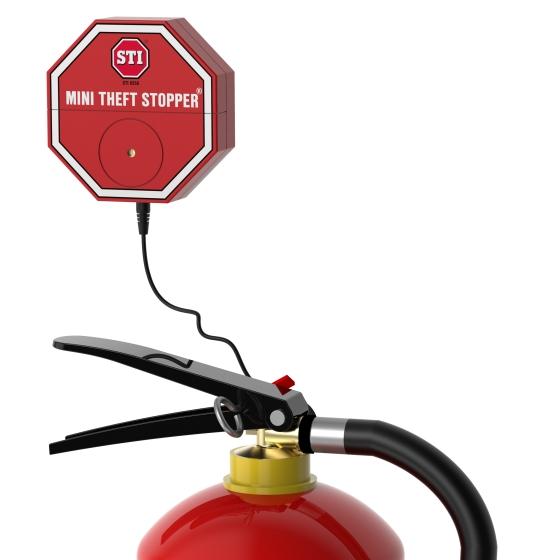 Brandsläckarlarm mini 9V