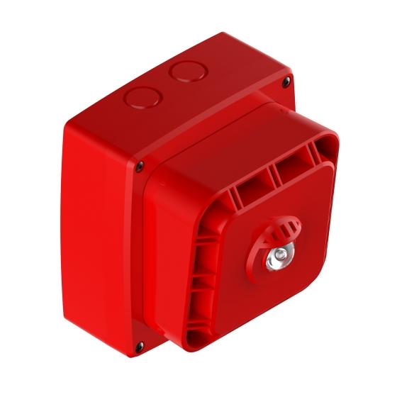 Sirén/LED röd