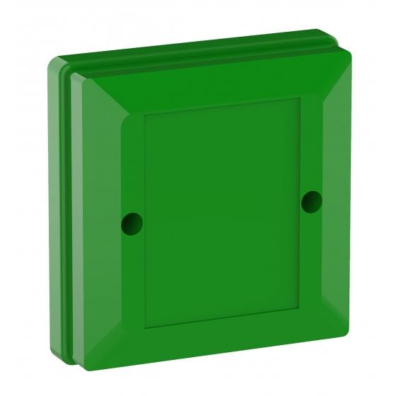 Plastkapsling Grön