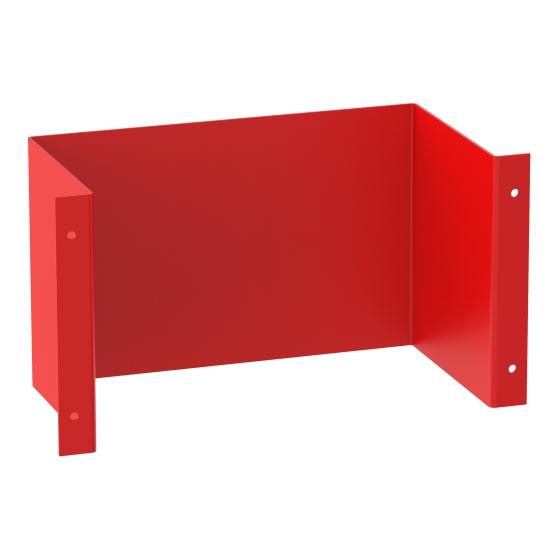 Montageplåt röd